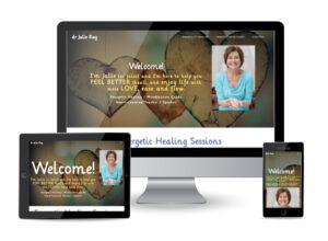 Dr. Julie Ray's website was created by Web Radish in 2021